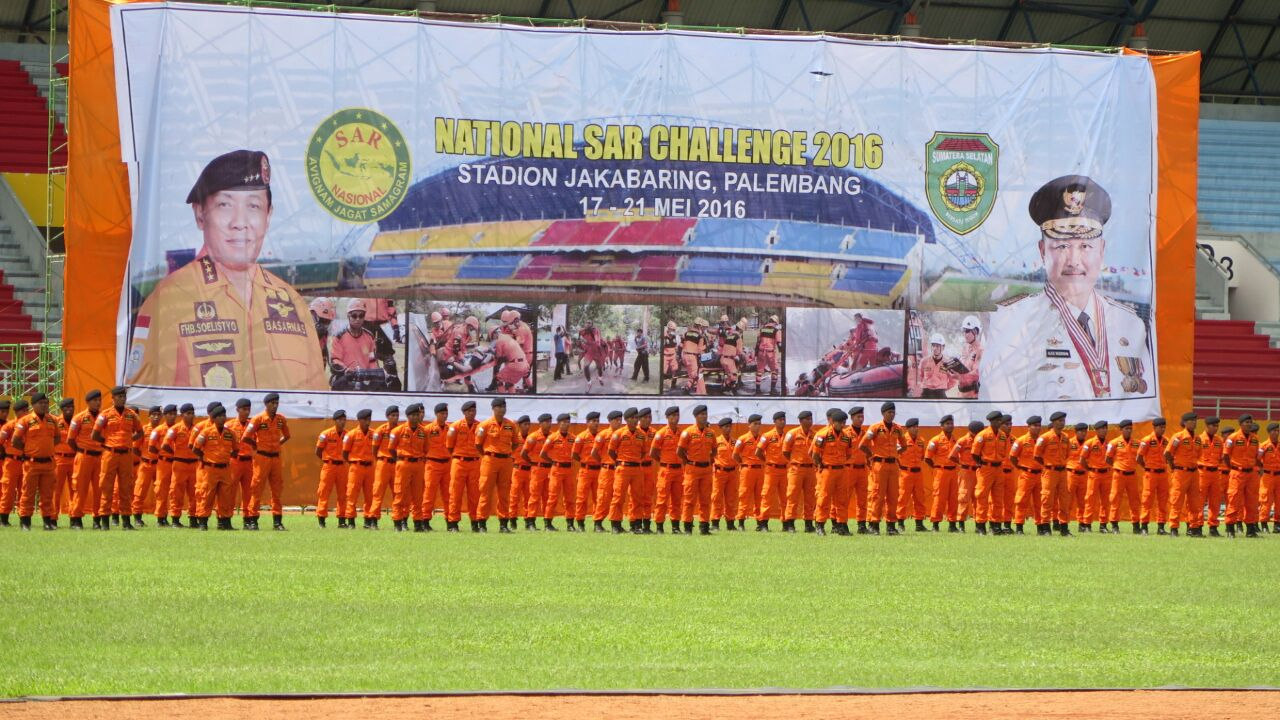 5th National Search and Rescue Challenge 2016 Palembang